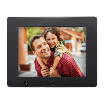 "Nix Advance 8""Hi-Resolution Digital Photo Frame with Motion Sensor"