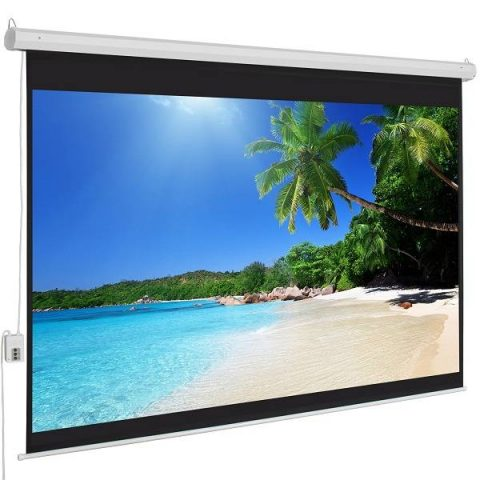 96X96 Inch Wall Mount Electronic