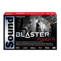 Creative Sound Blaster Audigy FX PCIe Sound Card