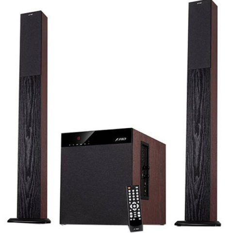 F&D T400X Wooden Tower Bluetooth TV Speaker
