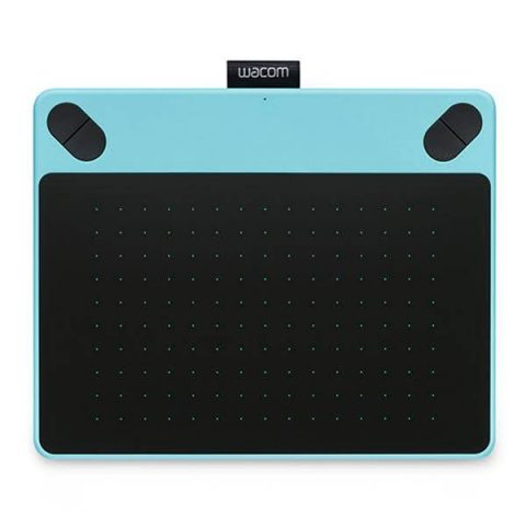 Wacom Intuos Draw Medium Blue Graphics Tablet Dhaka Bangladesh