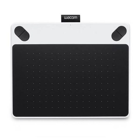 Wacom Intuos Draw Medium White Graphics Tablet