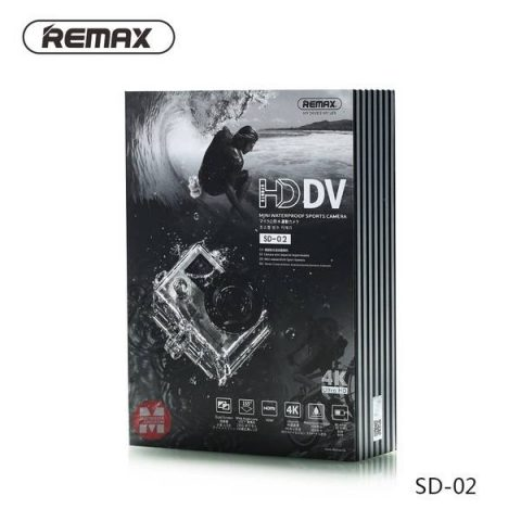 Remax SD 02 4K action Camera best price in BD