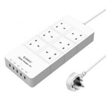 ORICO 6 AC Outlets 5 USB Ports Surge Protector