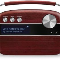 Saregama Carvaan Bengali Cherry Wood Red Digital Music Player