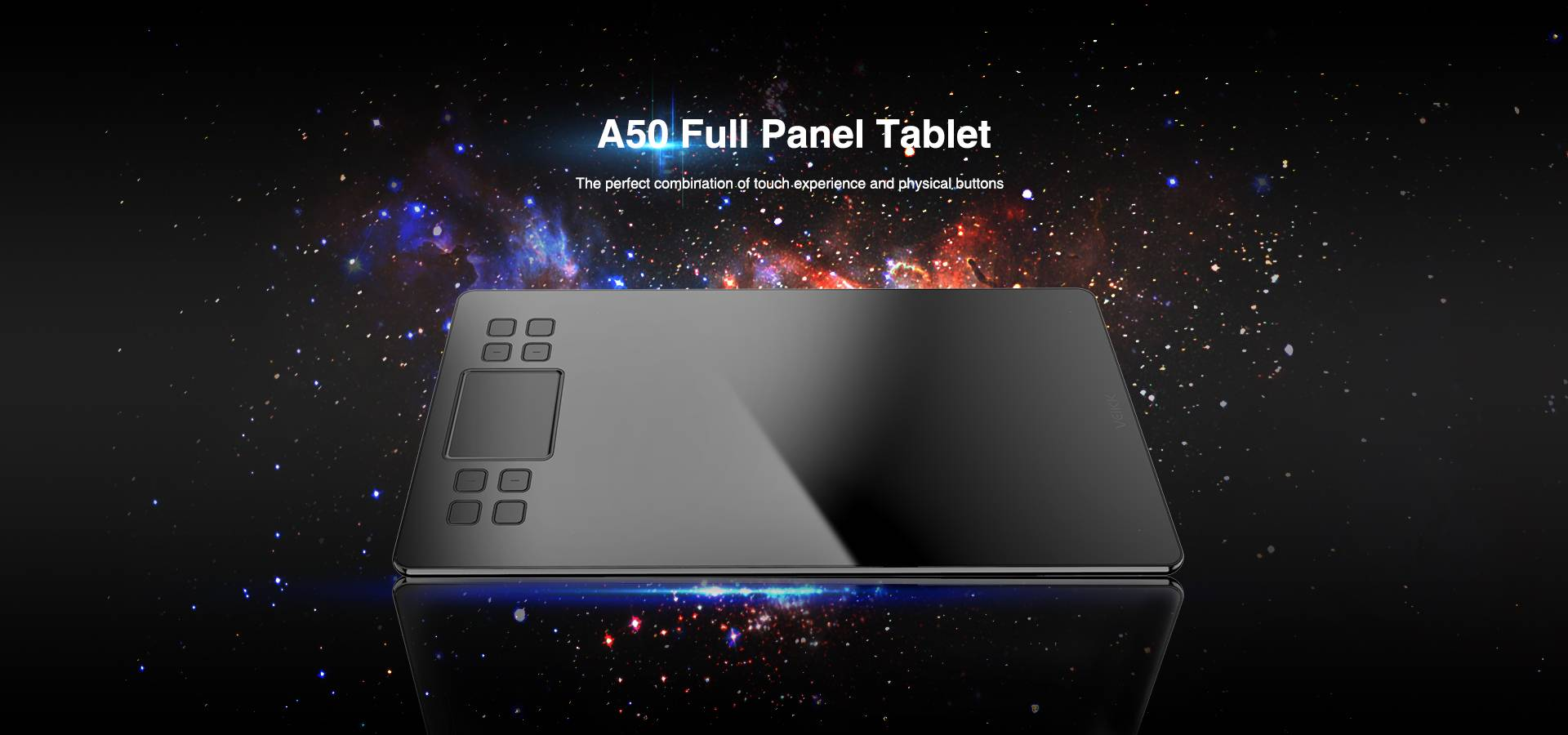 A50 Full Panel Tablet