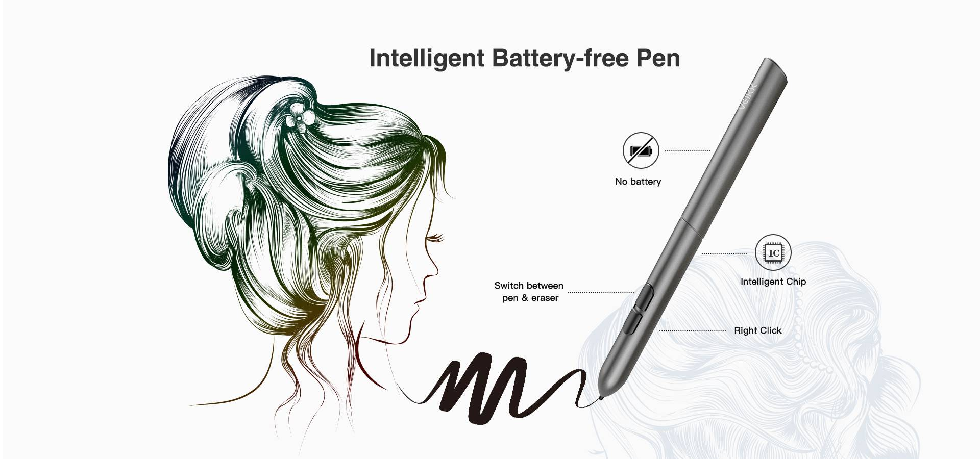 Intelligent Battery-Free Pen
