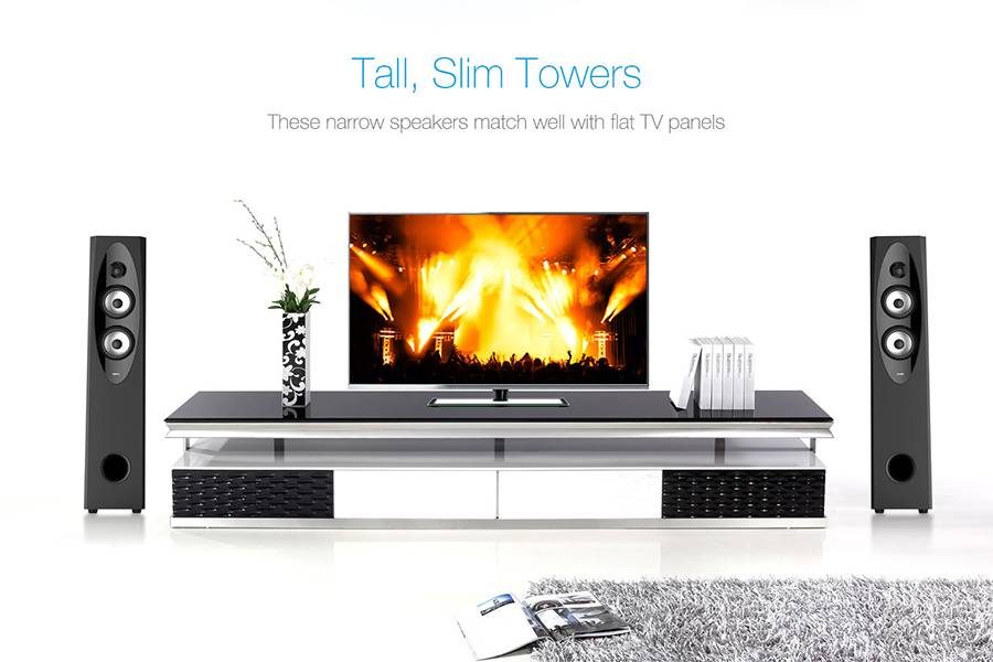 Tall, Slim Towers