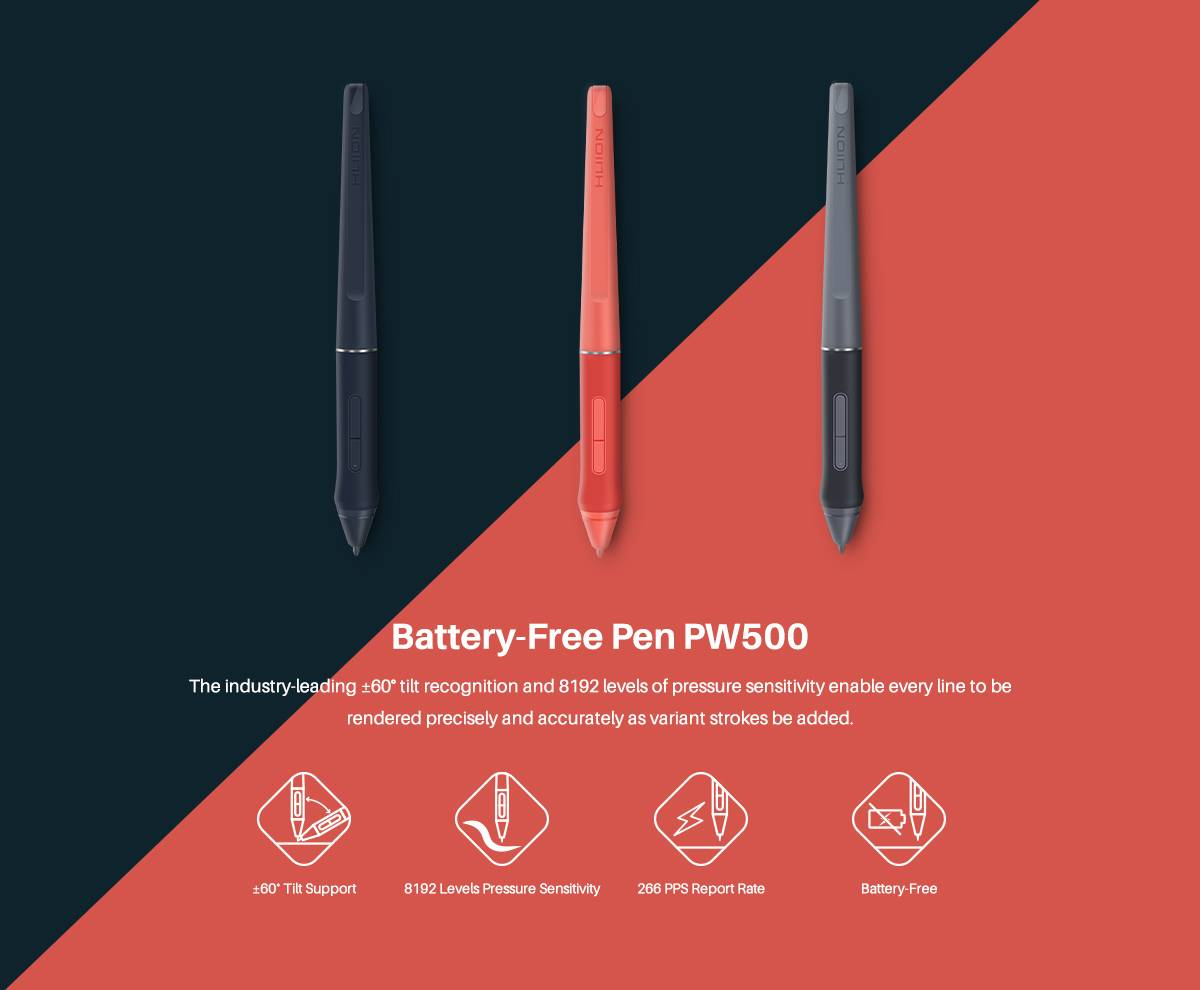 Battery_Free Pen PW500