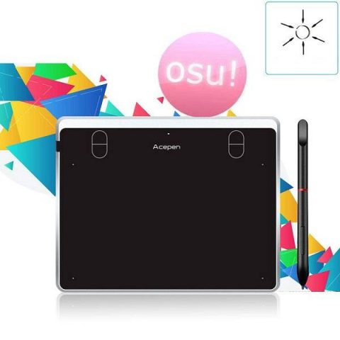 Acepen AP604 Silver Writing Tablet Price in BD