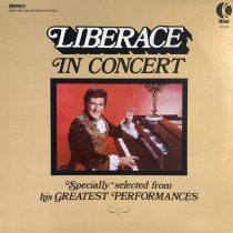 Liberace in Concert Vinyl LP Record